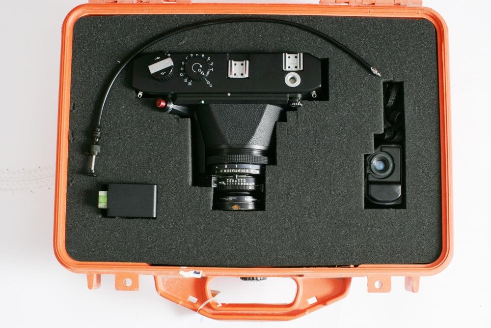 Linhof  6 x 12 + F:5.6  135mm + finder £95-00