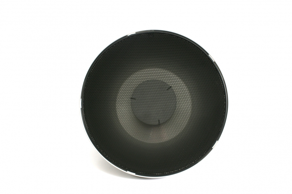1 x Beauty dishes with 515mm diffusing grids