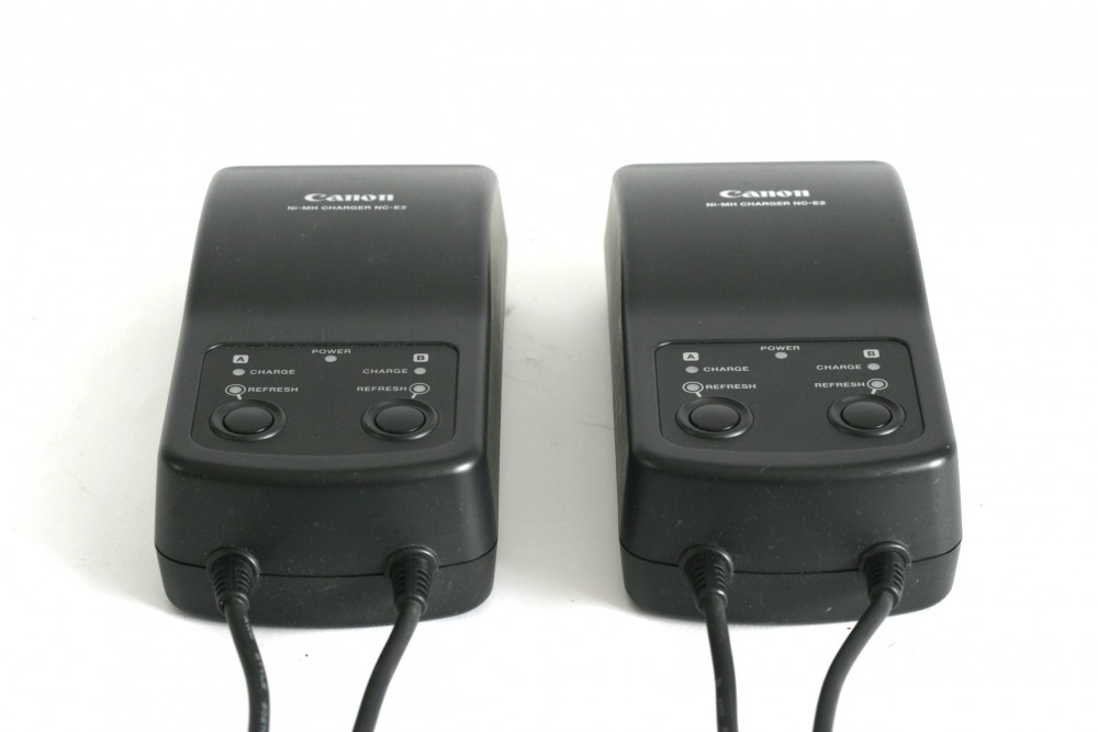 Battery chargers x2 £5 per day each, or included with kit