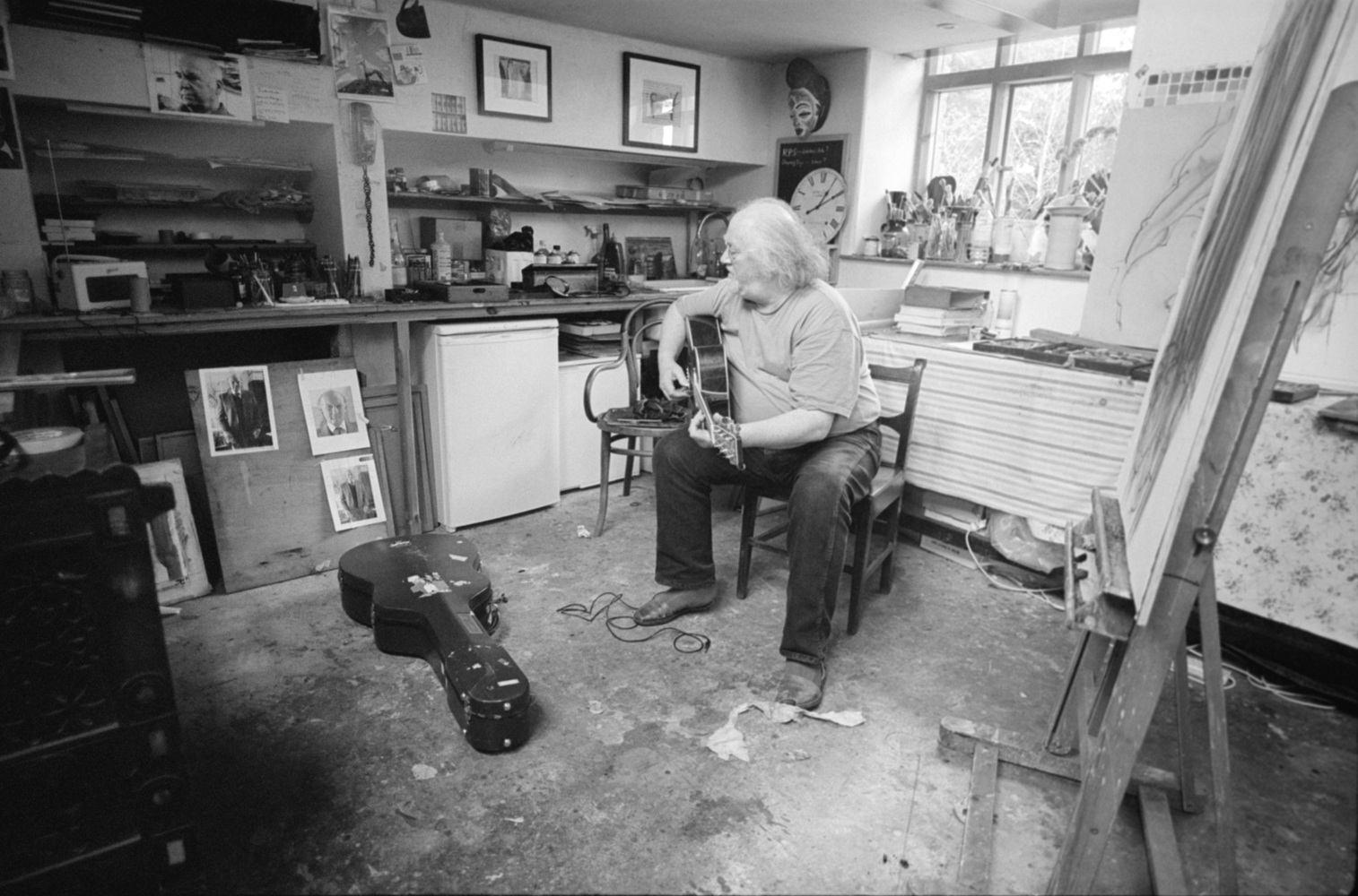 John in Neils Studio