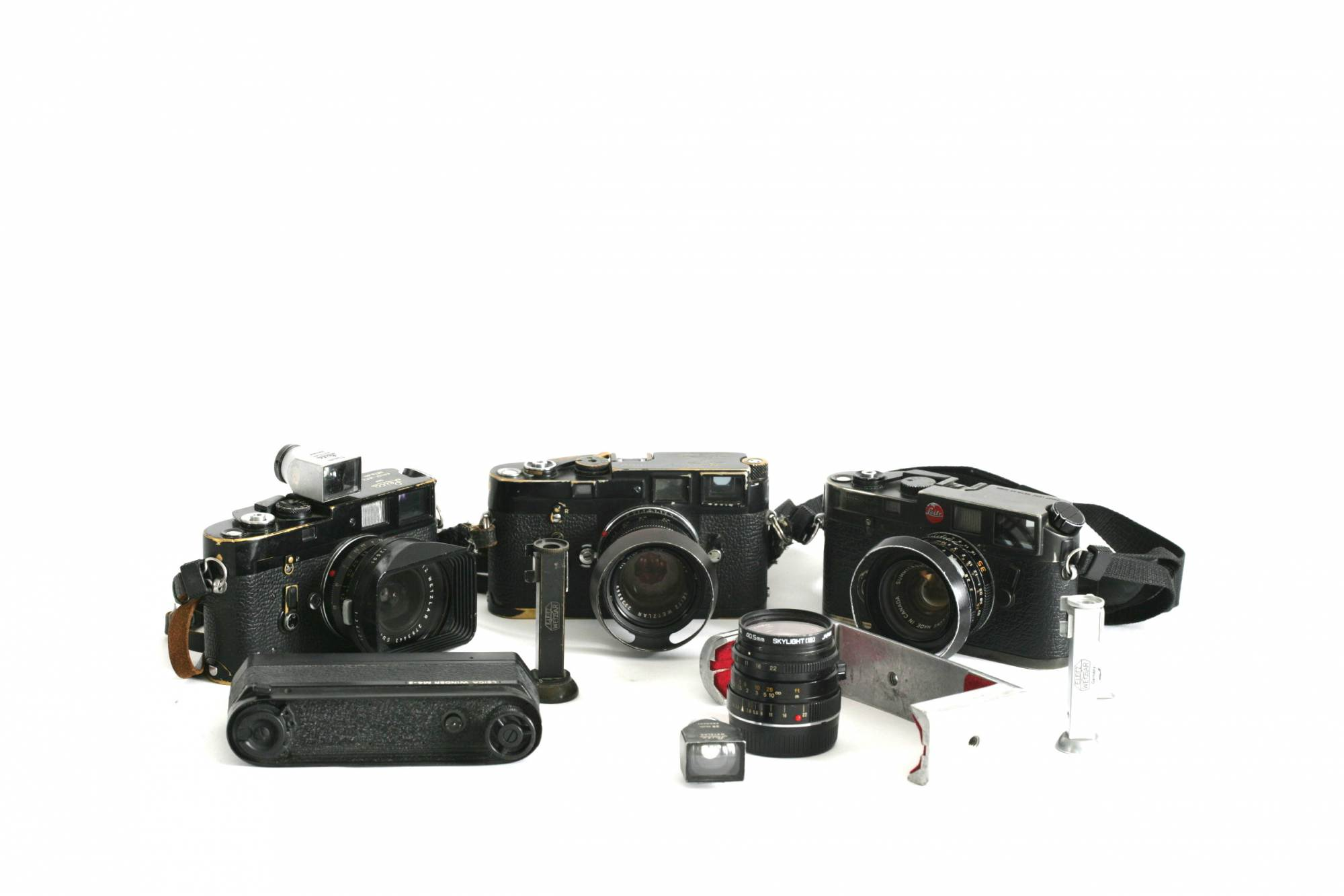 Entire Leica kit. £450 per day.