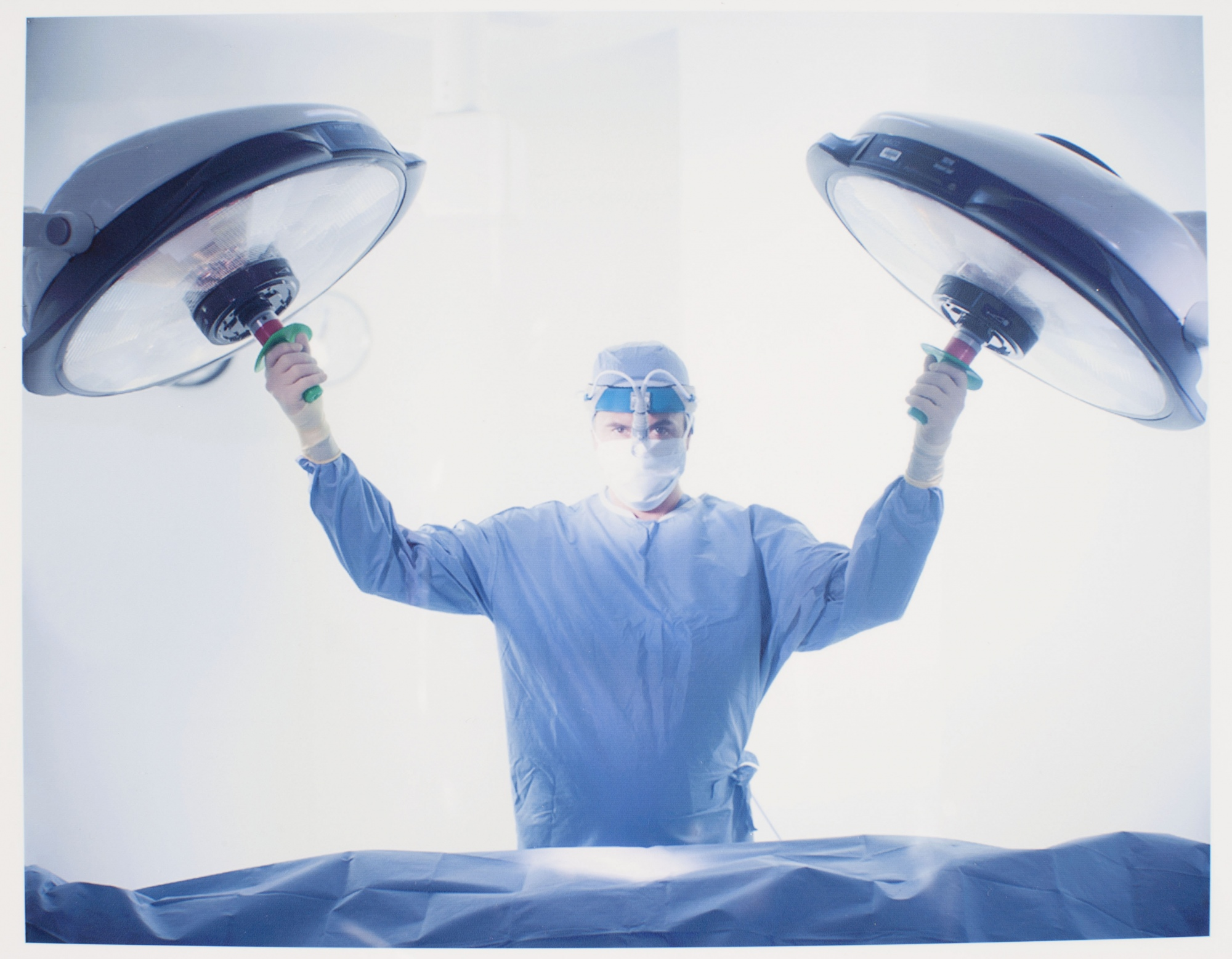 The surgeon. Advertising. Getty Images, stock photography.  Photographicworkshopslondon.com, Learning Photography, Film photography courses London