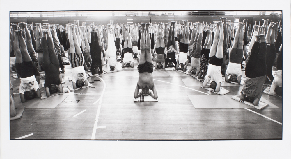 BKS Iyengar. My yoga teacher. 75th Anniversary at Crystal palace. For the Independent