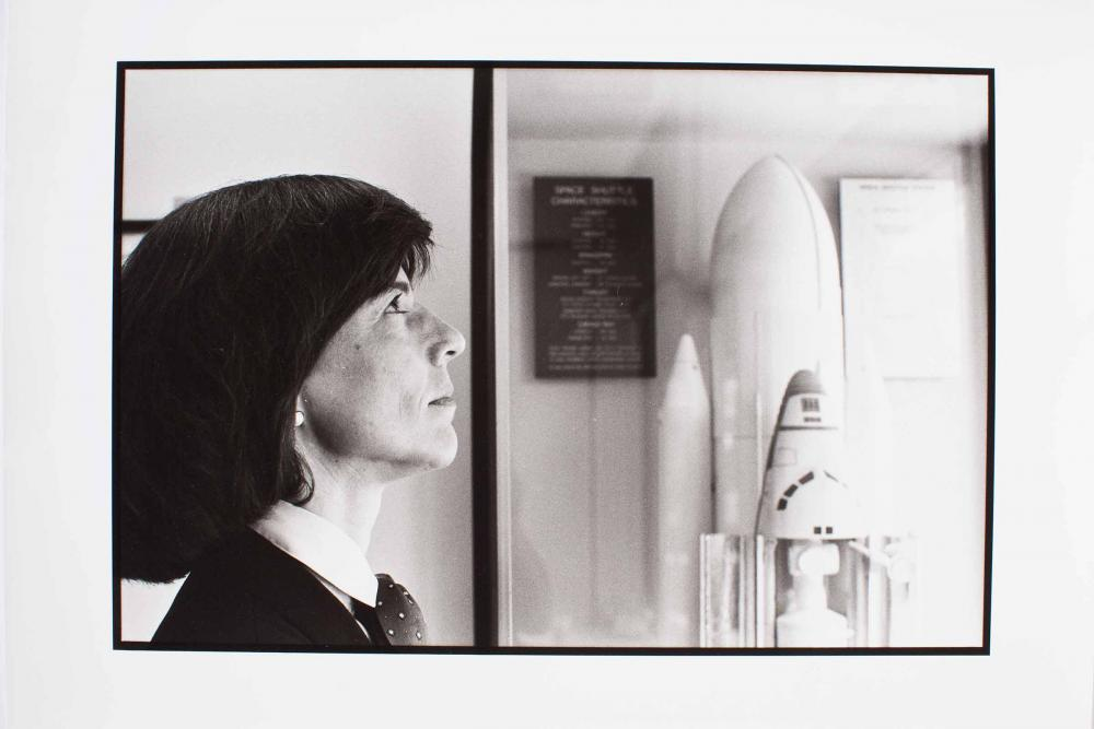 Bonnie Dunbar. Astronaut. Completed for missions for NASA