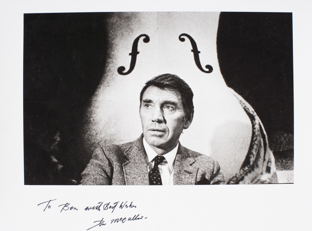 Sir Don McCullin